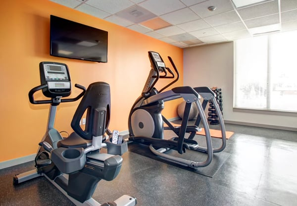 Hodge on 7th fitness room