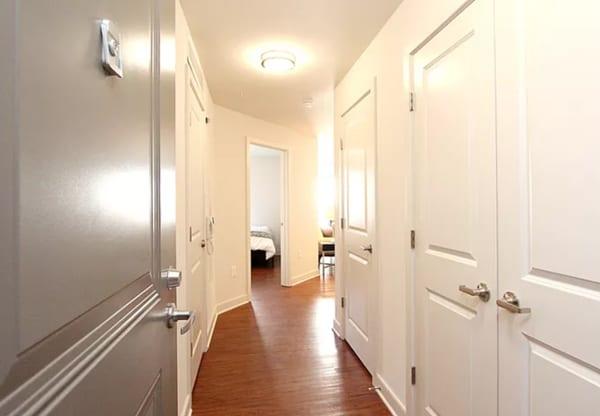 Justice Park unit hallway