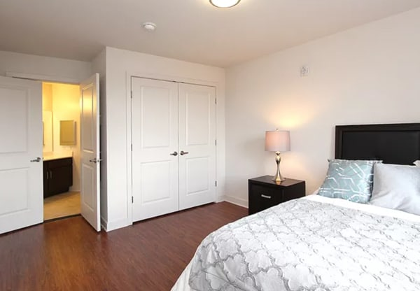 Justice Park sample unit bedroom