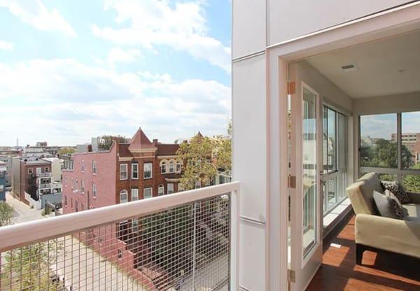 Justice Park unit balcony